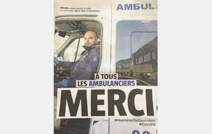 Aux ambulanciers...